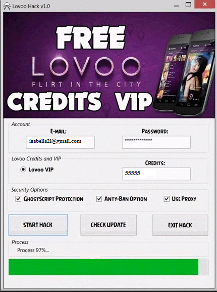Lovoo Credits Unlimited Credits APK Lovoo Credits hack