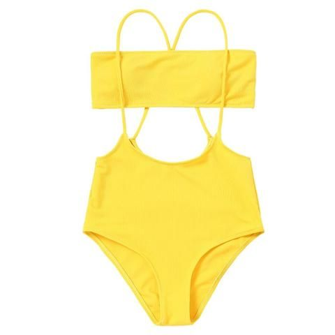 9aeeab769c5bb Sexy Bikini Brazilian Sling Bandeau Biquini High Waist Swimsuit Swimwear  Women Bikinis Set Bathing Suit Maillot De Bain