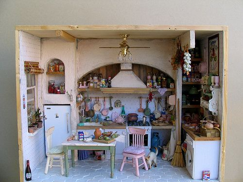 cucina moderna 1   Vitrines, Miniature et Théâtre