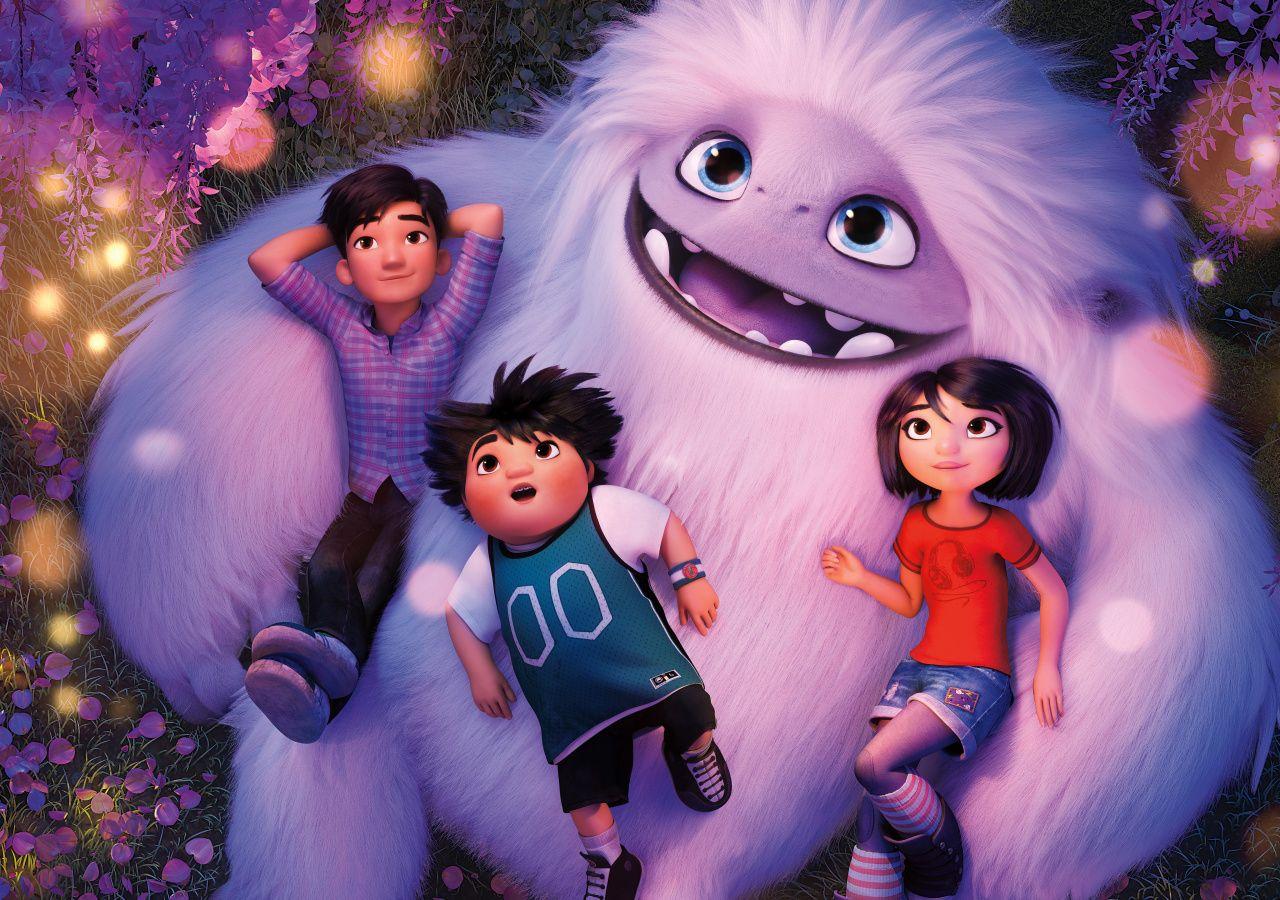 Abominable 2019 animation movie fun yeti and children