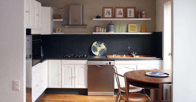 Repeindre une cuisine 300 euros pour un relooking r ussi for Repeindre une vieille cuisine