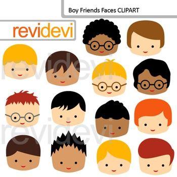 Clip Art Boy Friends Faces Friends Classmates Clipart Felt Craft Projects Peg Dolls Felt Dolls