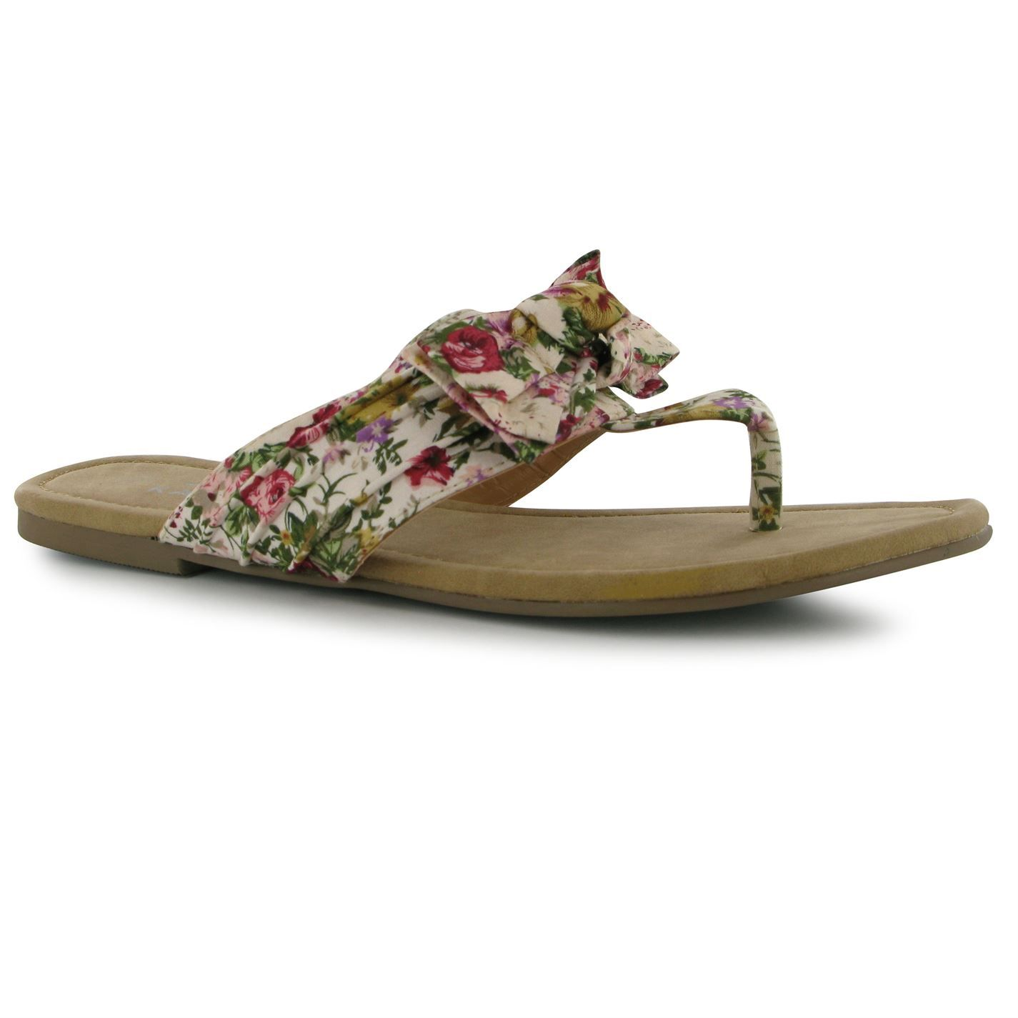 Kangol   Kangol Bow Ladies Flip Flops