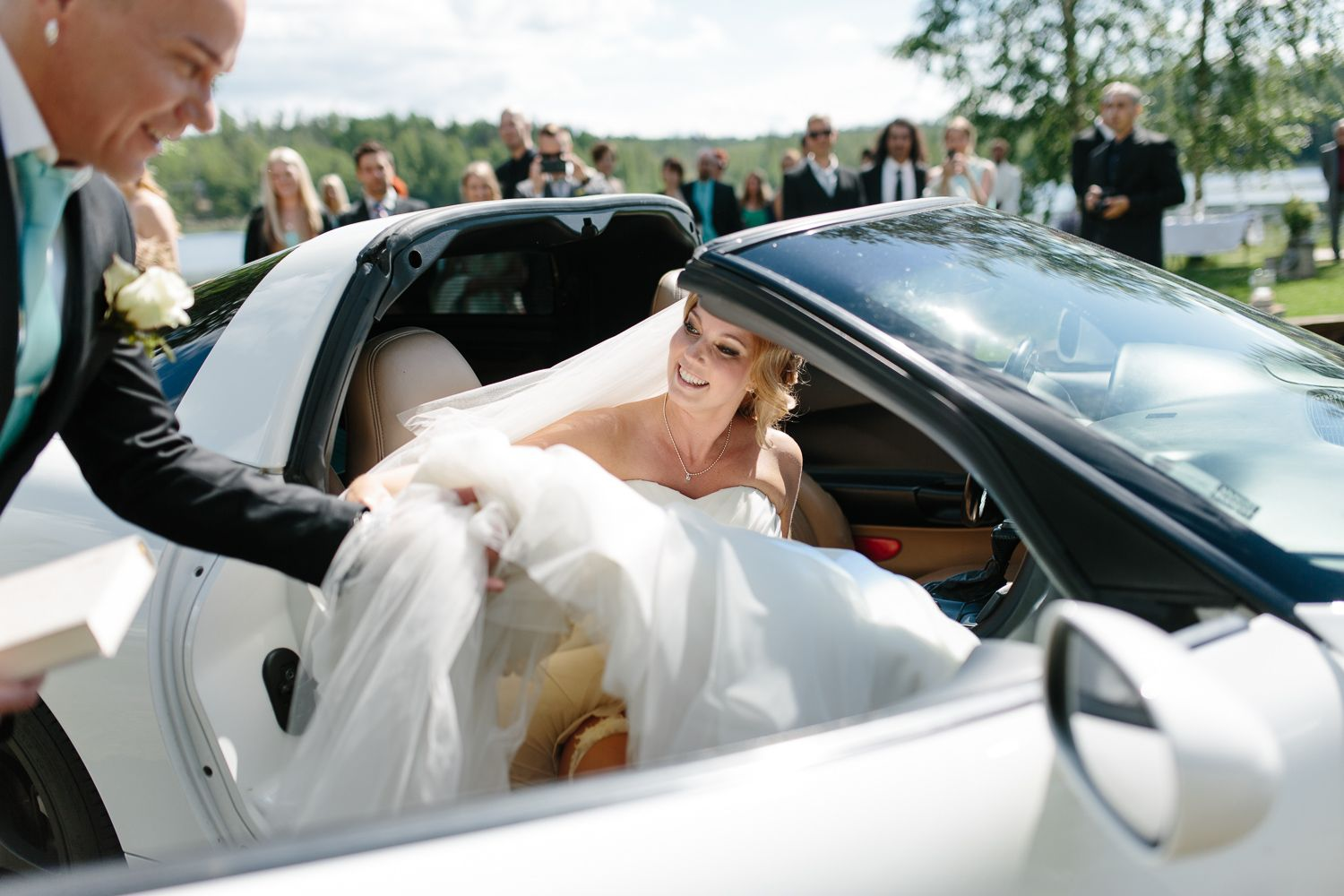 This wedding must have been the most relaxed I've ever photographed and as a couple Mirka & Matti managed to enjoy every moment! #wedding #photography