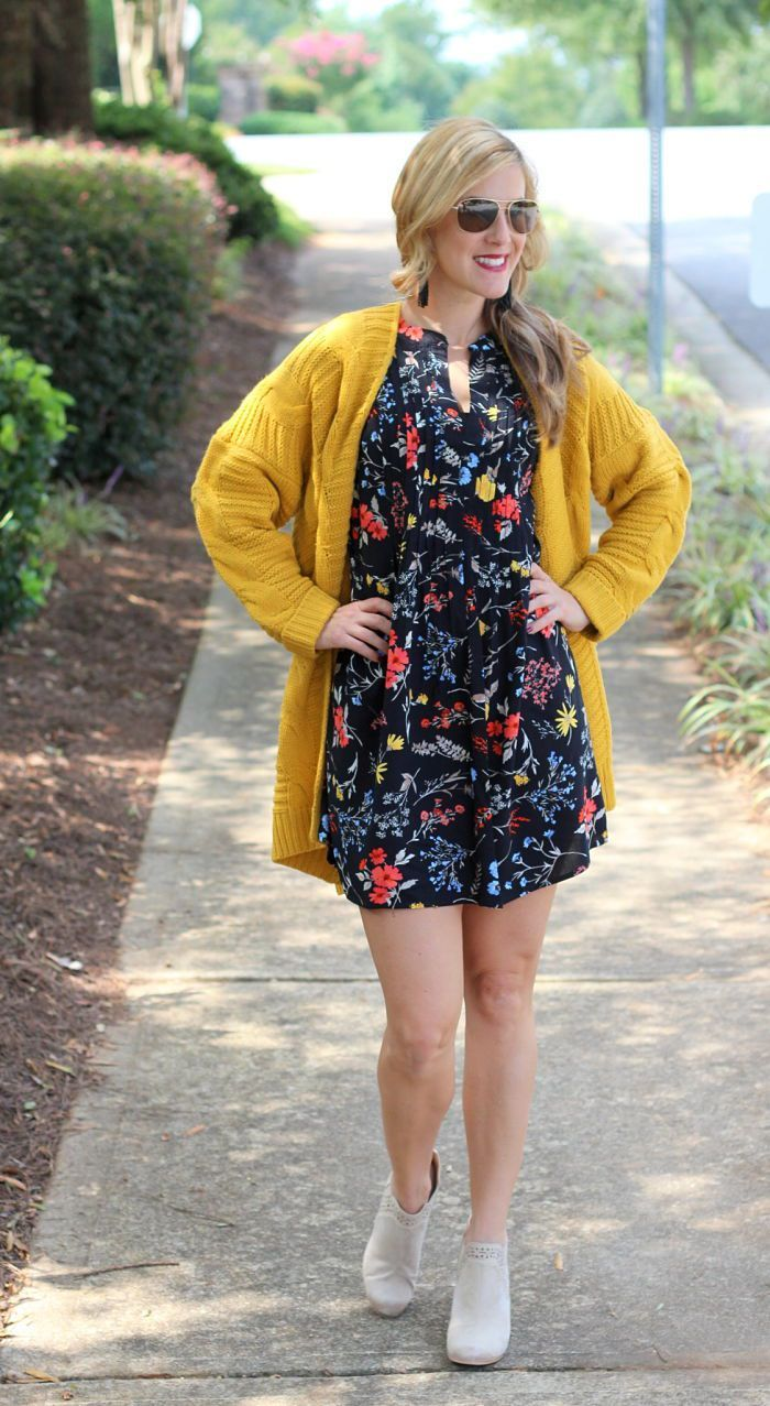 df1758b948 One of my favorite fall time colors is mustard yellow. I saw this Chunky  Cable