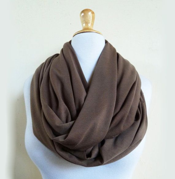 Nomad Infinity loop cowl / scarf  TAUPE  by OriginalDesignsByAR, $18.00