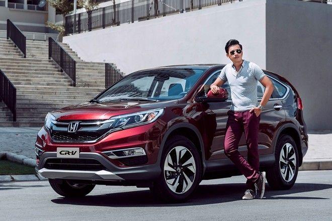 Giá xe Honda CRV mới 1