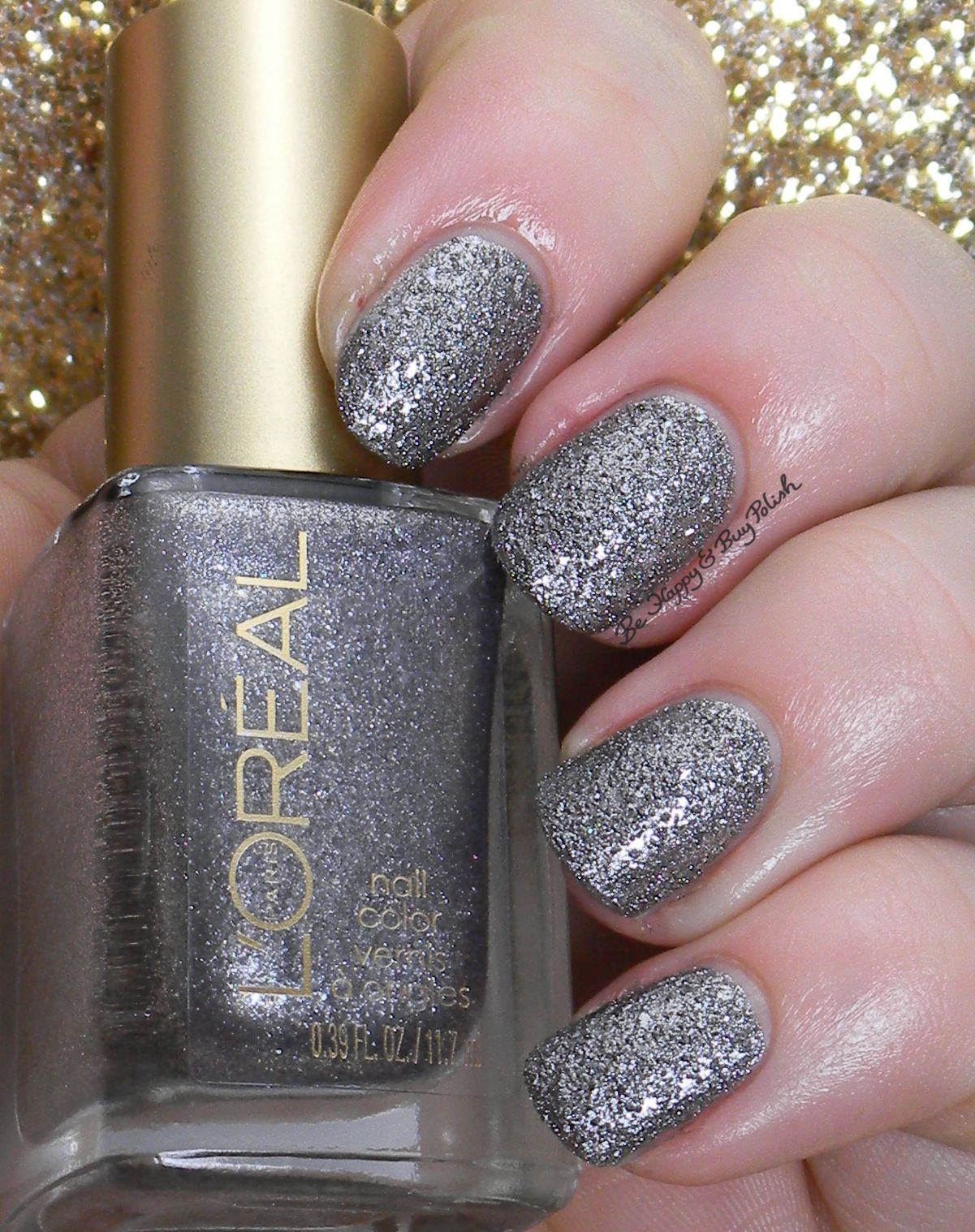 L'Oreal Dark Sides of Grey nail polishes swatches + review