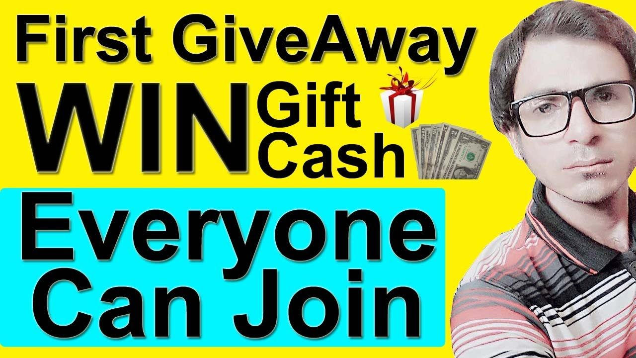 Give Away | How to join my first giveaway? | Presented by Take Lecture