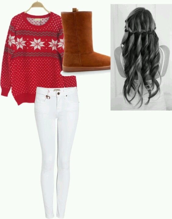 Comfy Christmas Outfit Cute Too Christmas Outfit Casual Clothes Outfits