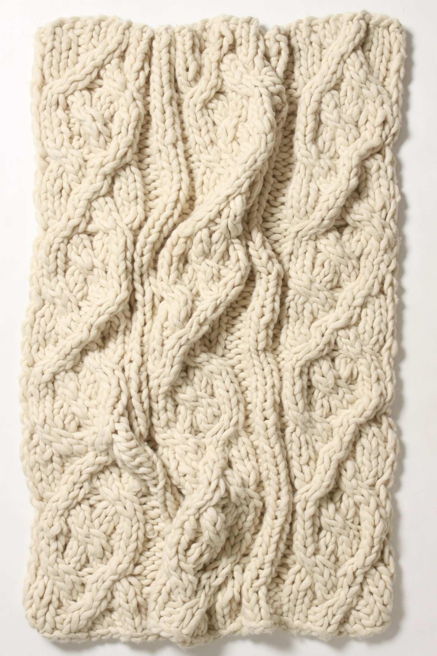 cable knit | Cable | Pinterest | Dos agujas, Puntadas y Manta