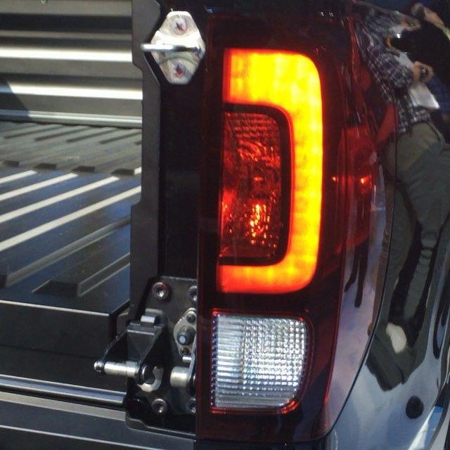 LED Rear Tail Lights On The 2017 Honda Ridgeline