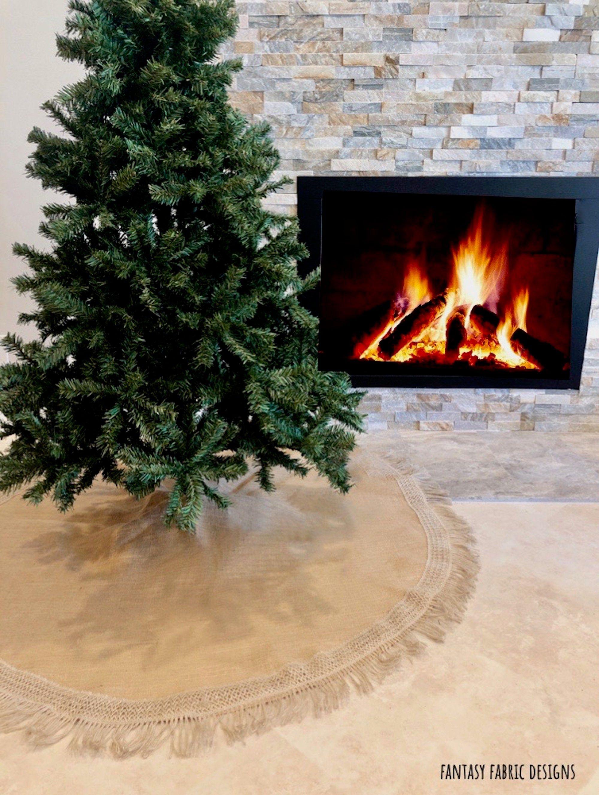 44+ Hessian christmas tree skirt inspirations