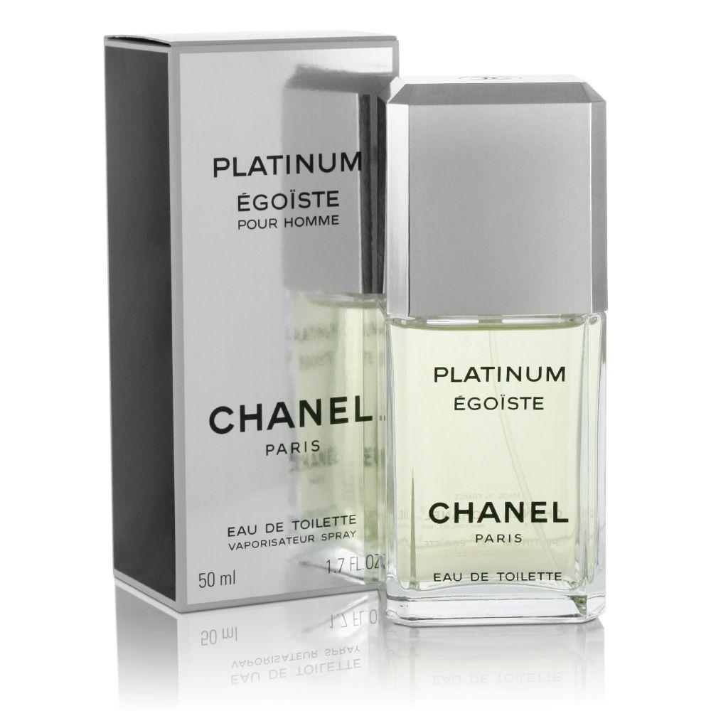 Egoiste Platinum Chanel for men Fragrances Pinterest