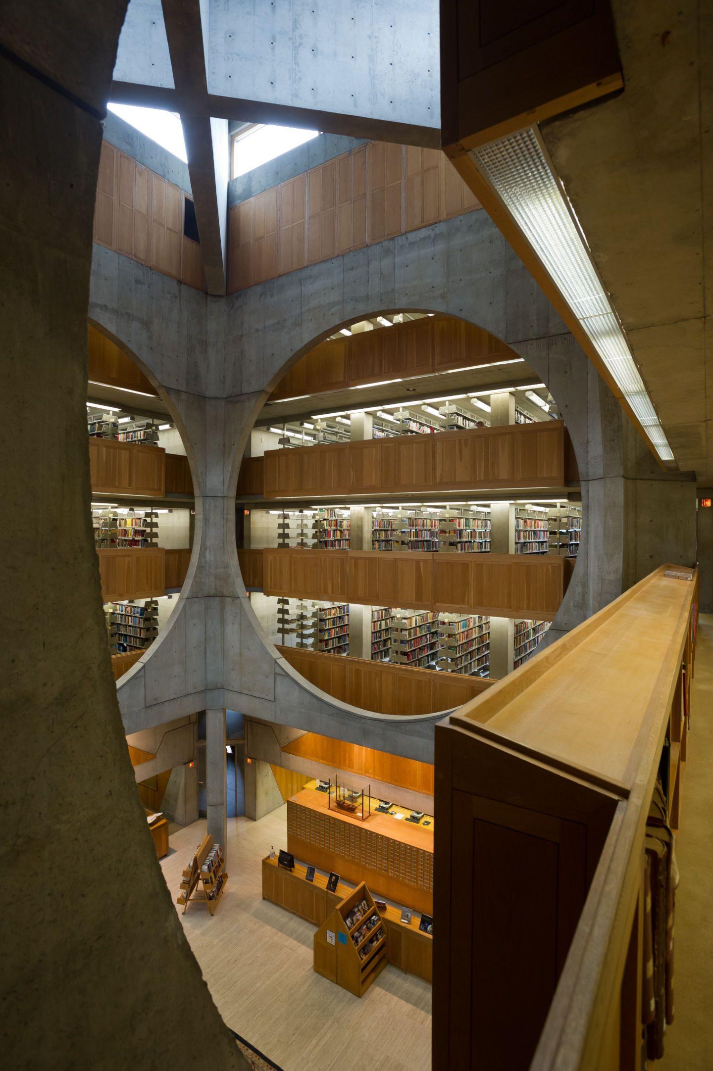 Louis I Kahn Xavier de Jauréguiberry · Library at Phillips