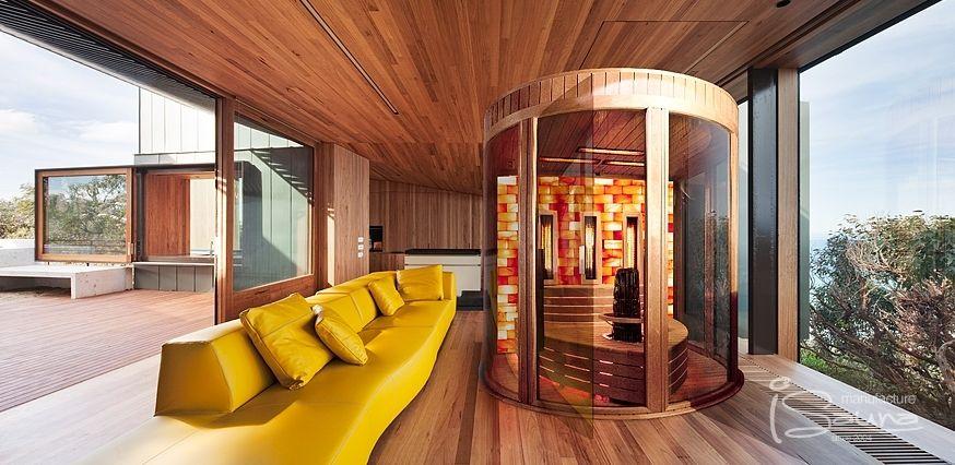 Design Sauna wunderschöne Details und ein toller Ort zum - sauna designs zu hause