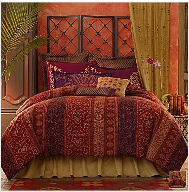 beyond bedding set in from piece silver bath vcny ogee king moroccan comforter buy bed