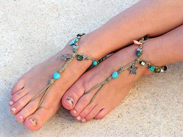 21a7f6d34d980f Hemp Barefoot Sandals How To Make