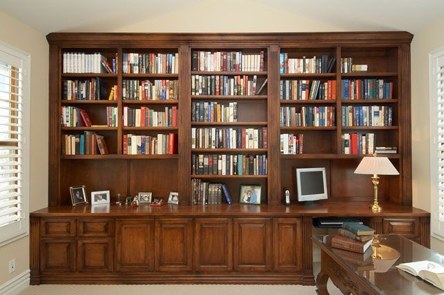 the real wood furniture store home library