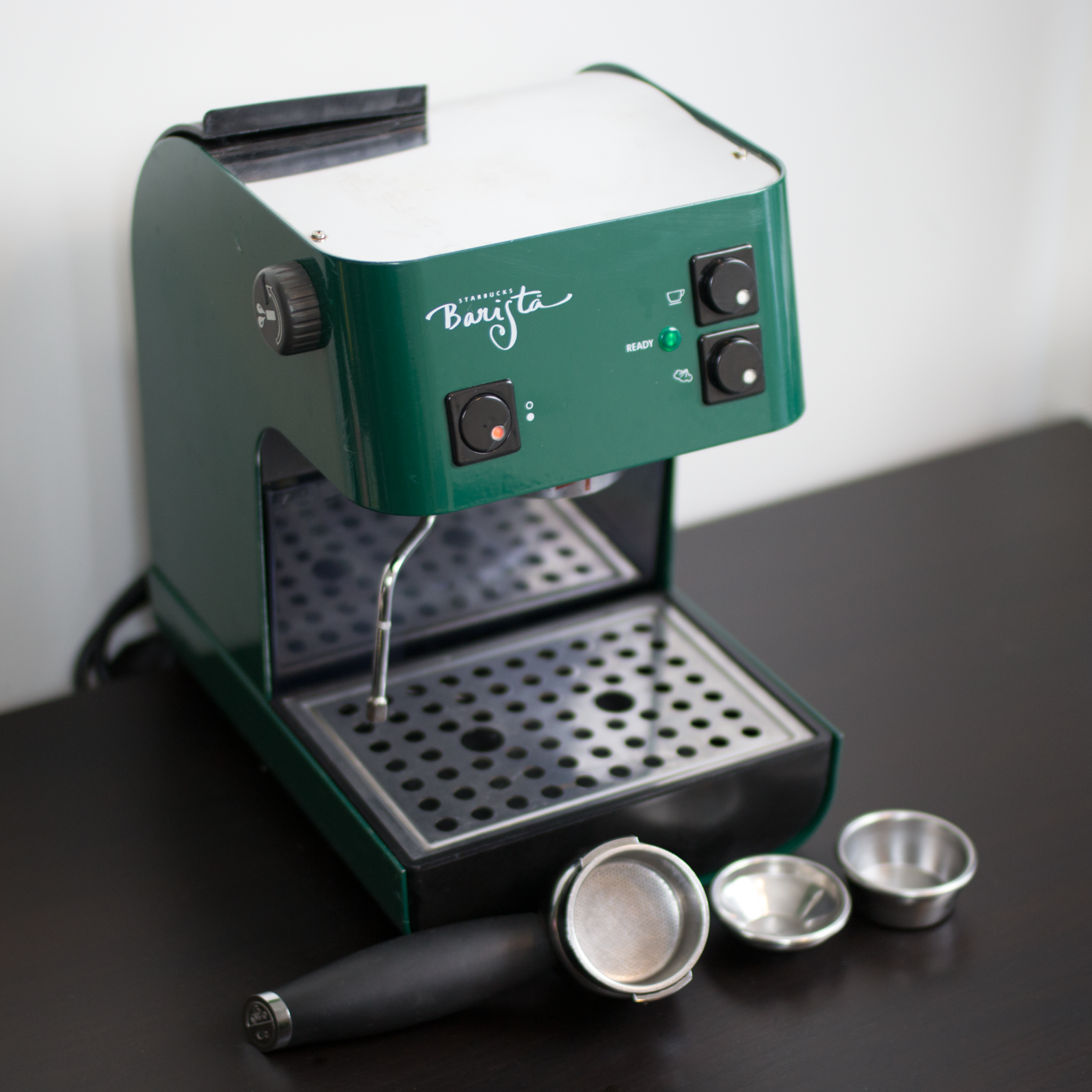 Starbucks Barista Seattle Espresso Machine Green Saeco SIN