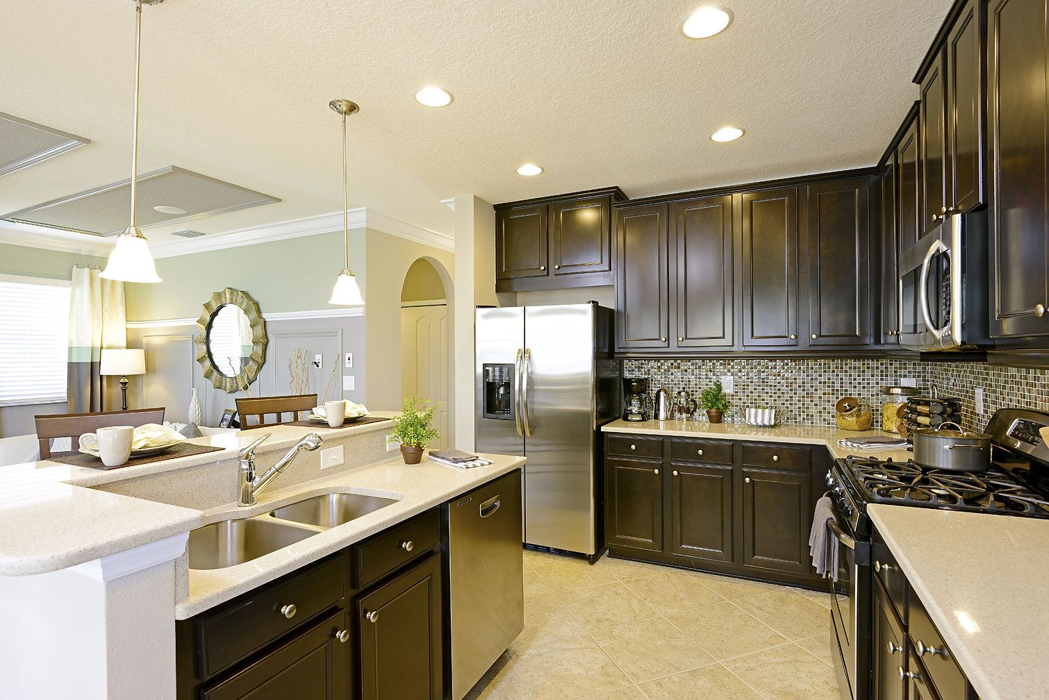 K Hovnanian Home Designs Part - 31: Spacious Kitchen From K. Hovnanian Homes: Brightwater At FishHawk Ranch