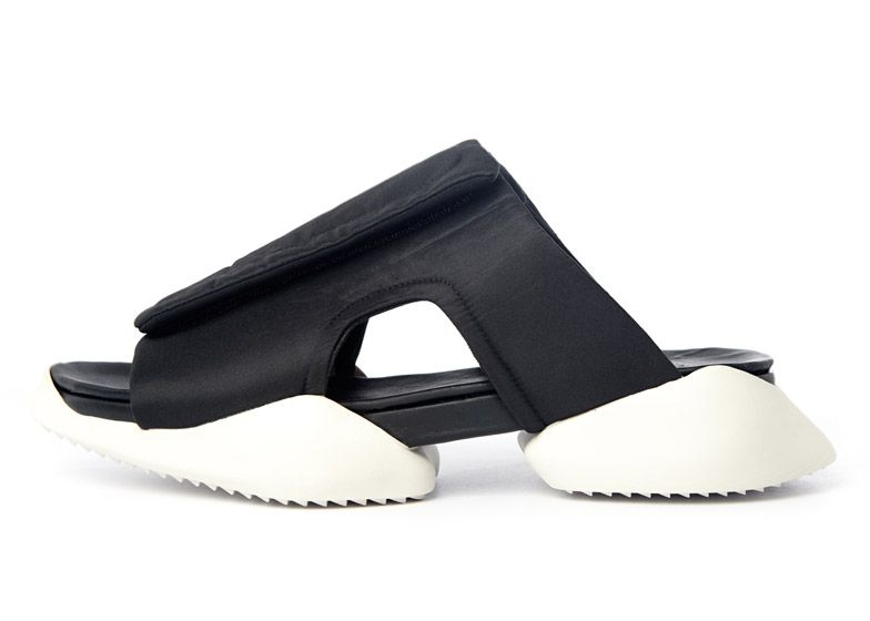 93170722473a Rick Owens adds sandals and clogs to footwear range for Adidas ...