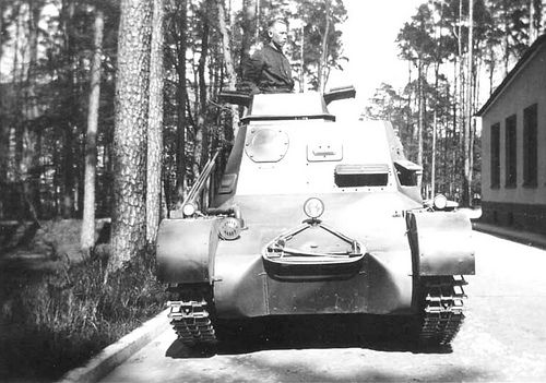German Panzerbefehlswagen I.  #worldwar2 #tanks