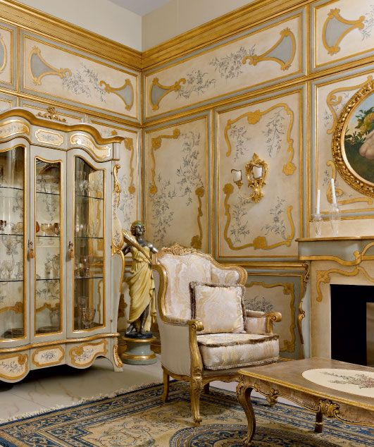Luxury Classic Living Rooms: Classic Luxury Wainscoting By Andrea Fanfani Italy. Our