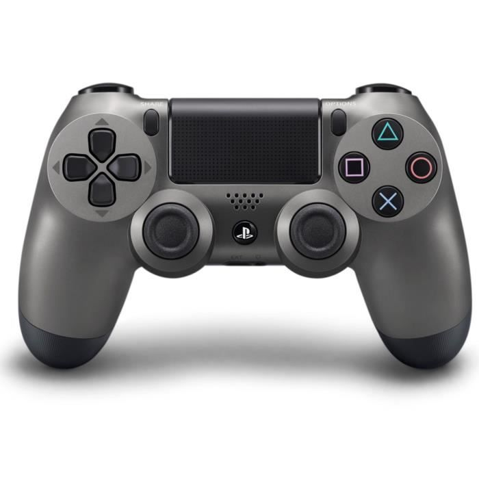 56.99 € ❤ Pour  PS4 - La Manette de Jeu  DualShock4  SteelBlack PS4 ... e398c65f94f2