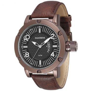 8bf1d9aff797c (Tio Ricardo) Relógio Masculino Mondaine - Caixa de 5,9 cm - R  88,10 Moros