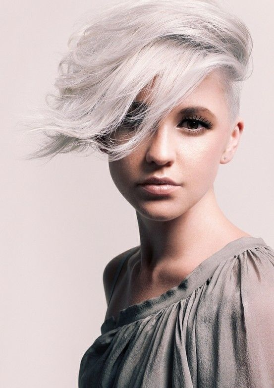 Attractive 2015 Spring And Summer Hair Color Trends U2013 Silver Hair