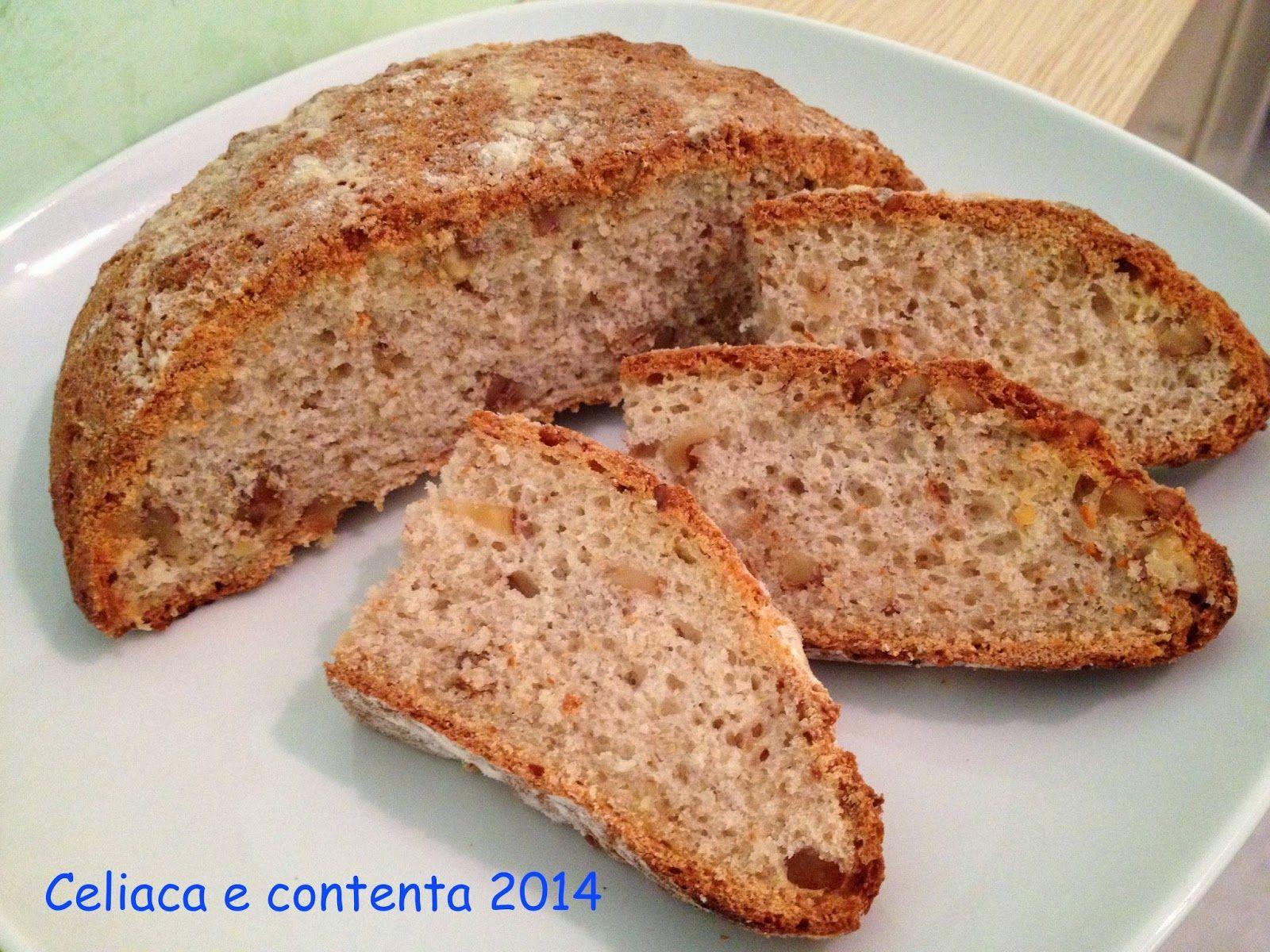 Celiaca e contenta: Pane con farina di amaranto e noci... come coccola...