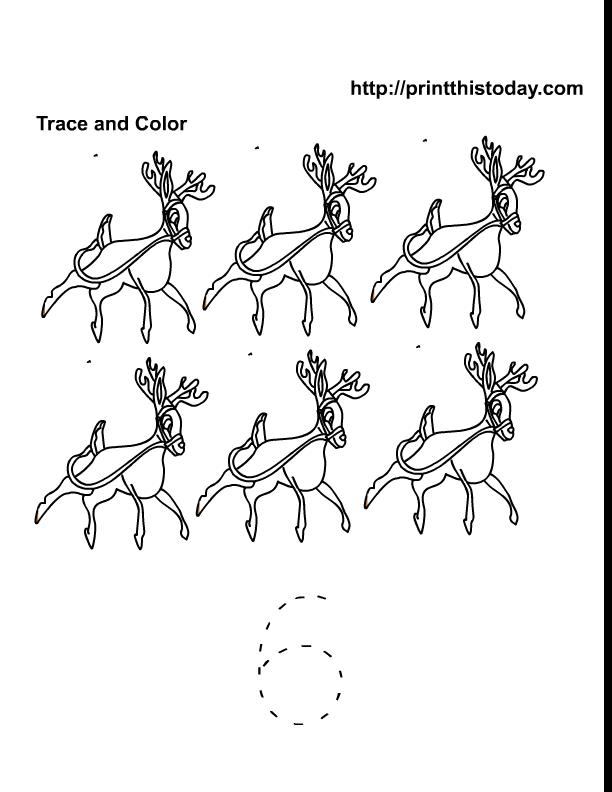 Rudolph the red-nosed reindeer worksheet - Free ESL printable ...