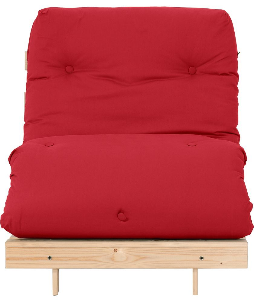 buy colourmatch single futon sofa bed with mattress   poppy red at argos co  buy colourmatch single futon sofa bed with mattress   poppy red at      rh   pinterest