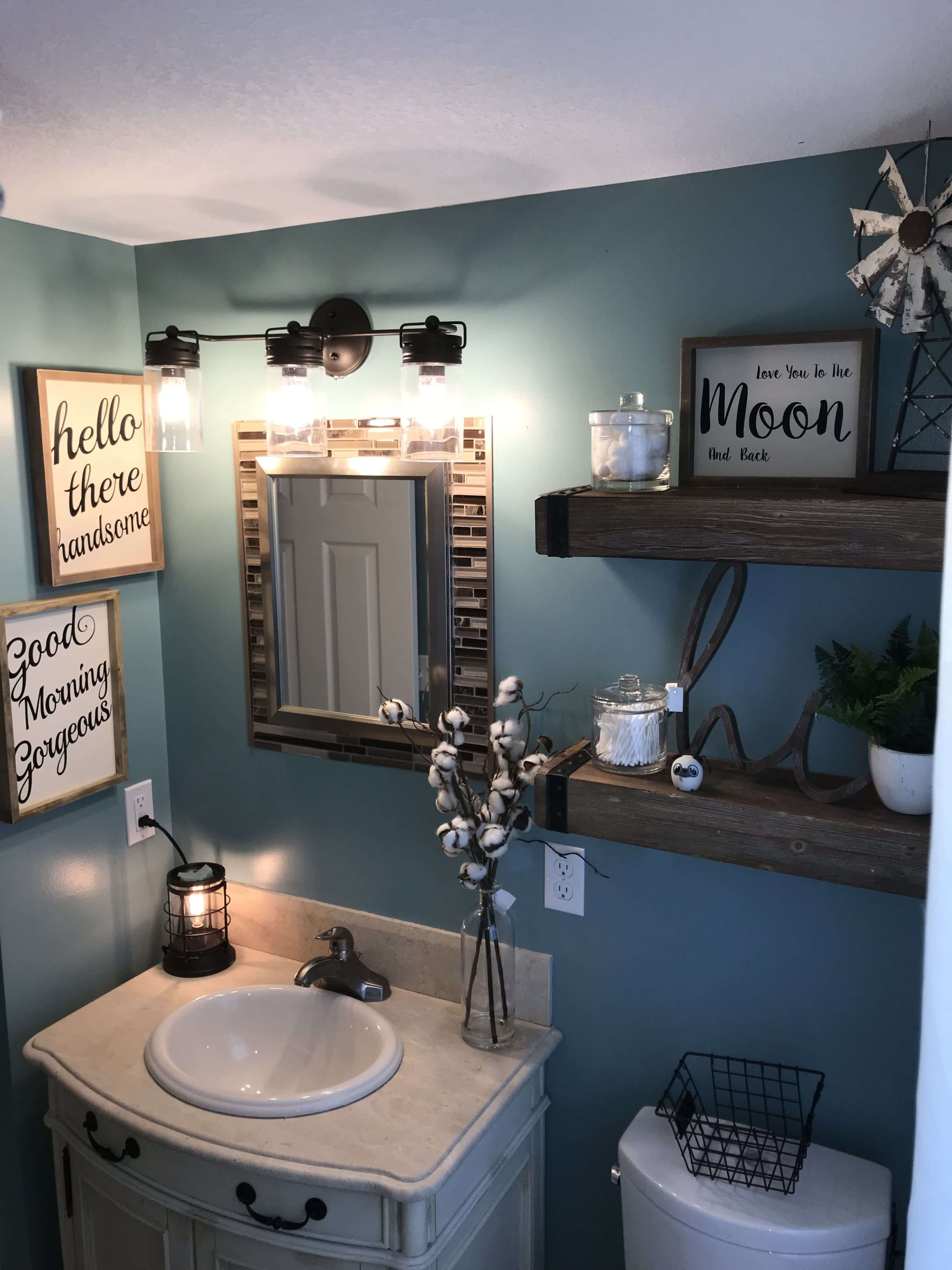 Top 12 Best Bathroom Wall Decor Ideas To Check Out Small