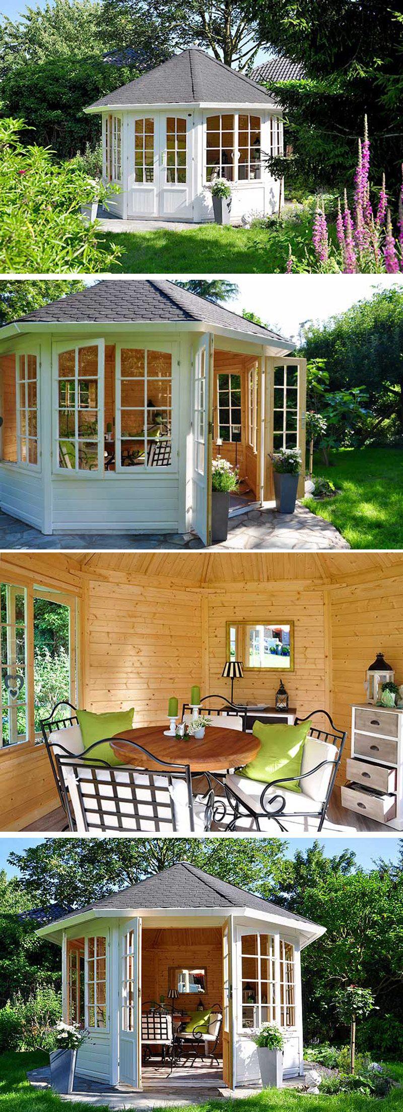 der gartenpavillon emma eine aufbaugeschichte fotostory die besten kundenprojekte. Black Bedroom Furniture Sets. Home Design Ideas
