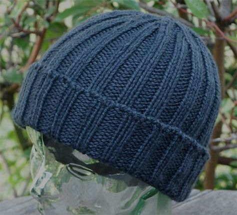Seaman\'s Watch Cap by ozquokka, knit free pattern   beanie ...