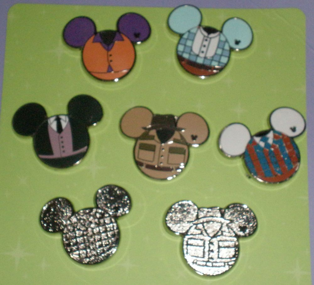 9a4c88cceaa WDW Complete Set of Costume Icon Collection - 2012 Hidden Mickey Pins (need  all but center)