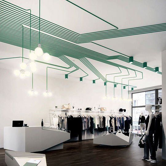 Inspiration: Geometric Patterns with Electrical Wiring | Pinterest ...