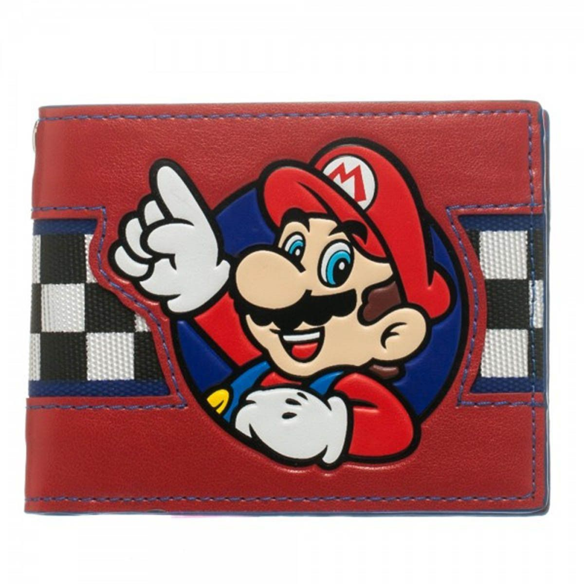 Nintendo Mario Checker Bi-Fold Wallet