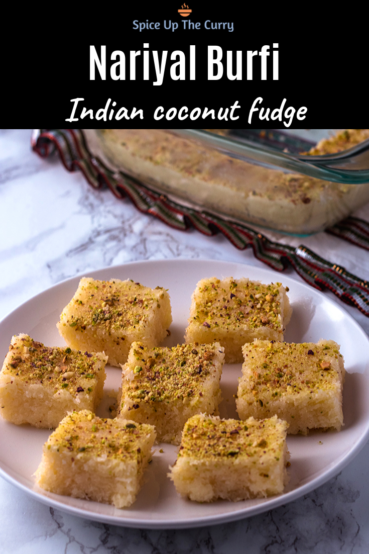 Coconut Burfi Recipe With Condensed Milk Recipe Diwali Recipes Coconut Barfi Recipe Coconut Burfi Diwali Food