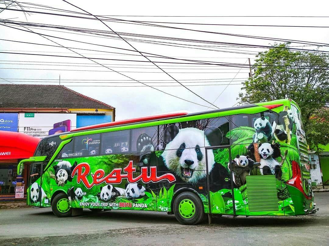 Jetbus 3 Restu Panda Hino Rk 8 J08e Uf Indonesia
