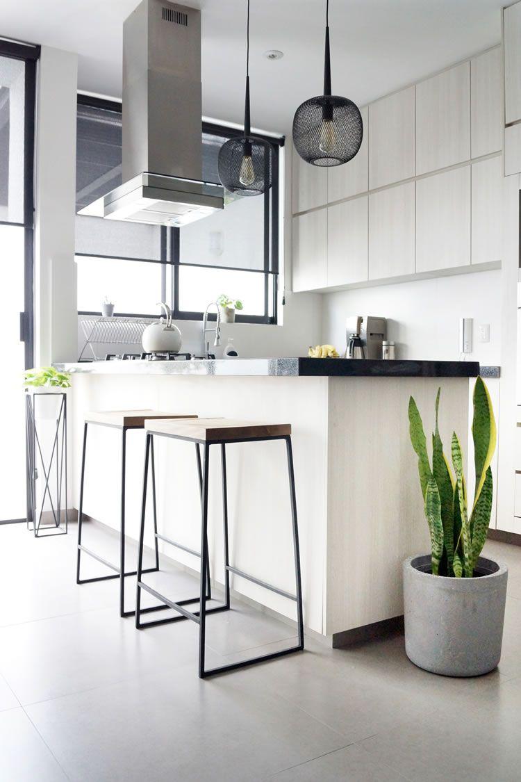 Antes Y Despues Cocina Y Comedor Estilo Nordico Scandi Casa Haus Cocina Renovada Decoracion De Cocina Cocina Comedor