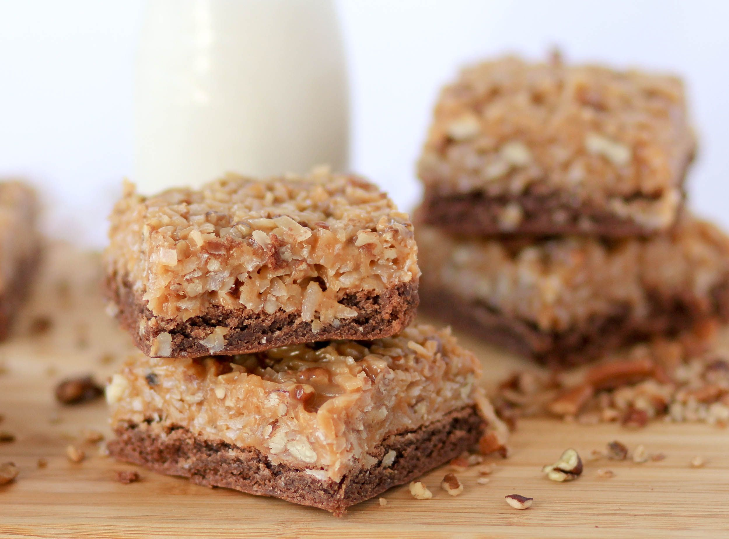 German chocolate cake bars confessions of a cookbook