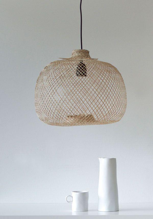 bloomingville bamboo pendant light pendelleuchte lampen. Black Bedroom Furniture Sets. Home Design Ideas