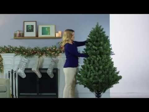 Grow And Stow Christmas Tree.6 9 Ft Pre Lit Grow Stow Christmas Tree Winter Tis The