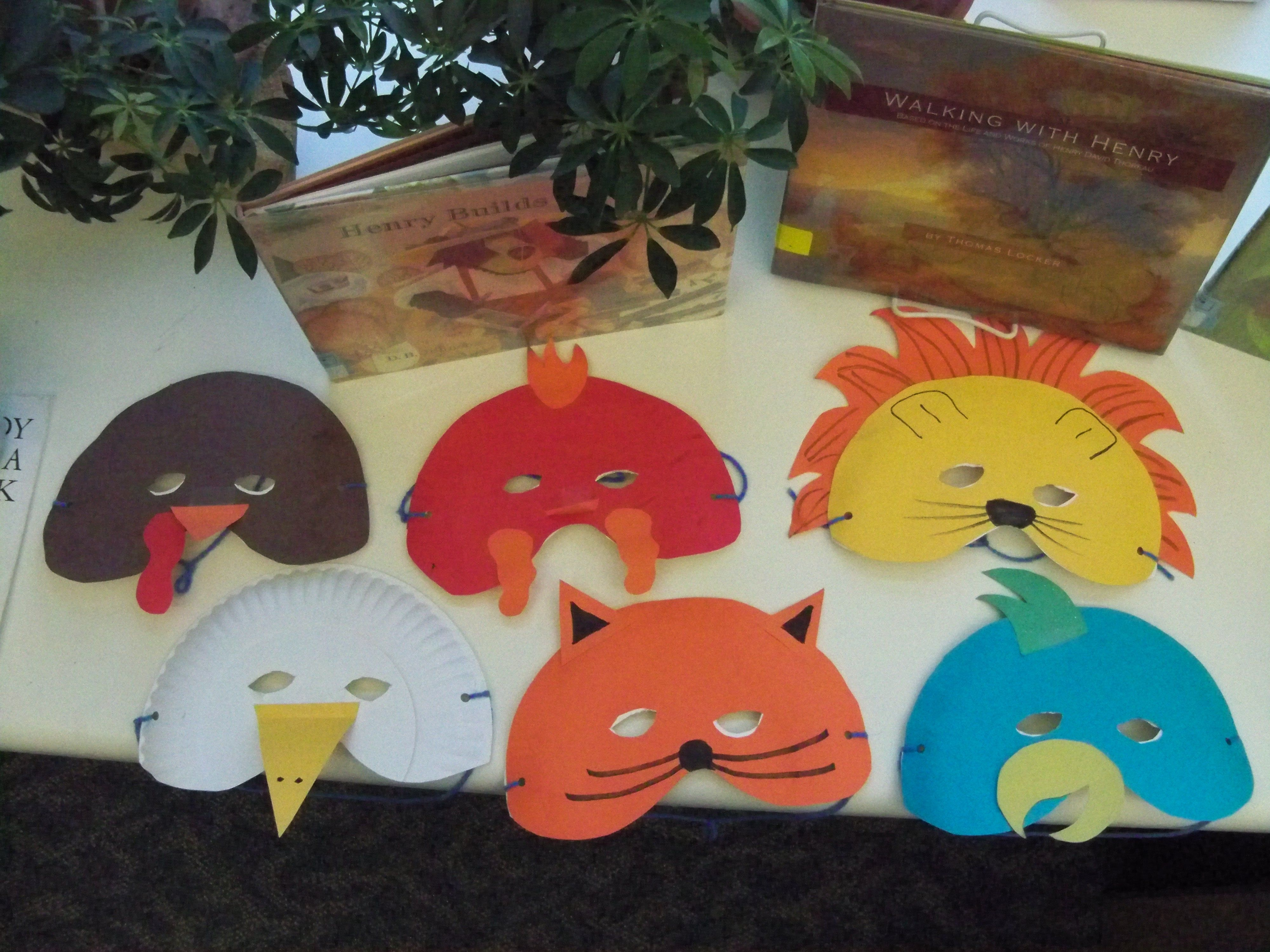 Masks For Henny Penny With Images