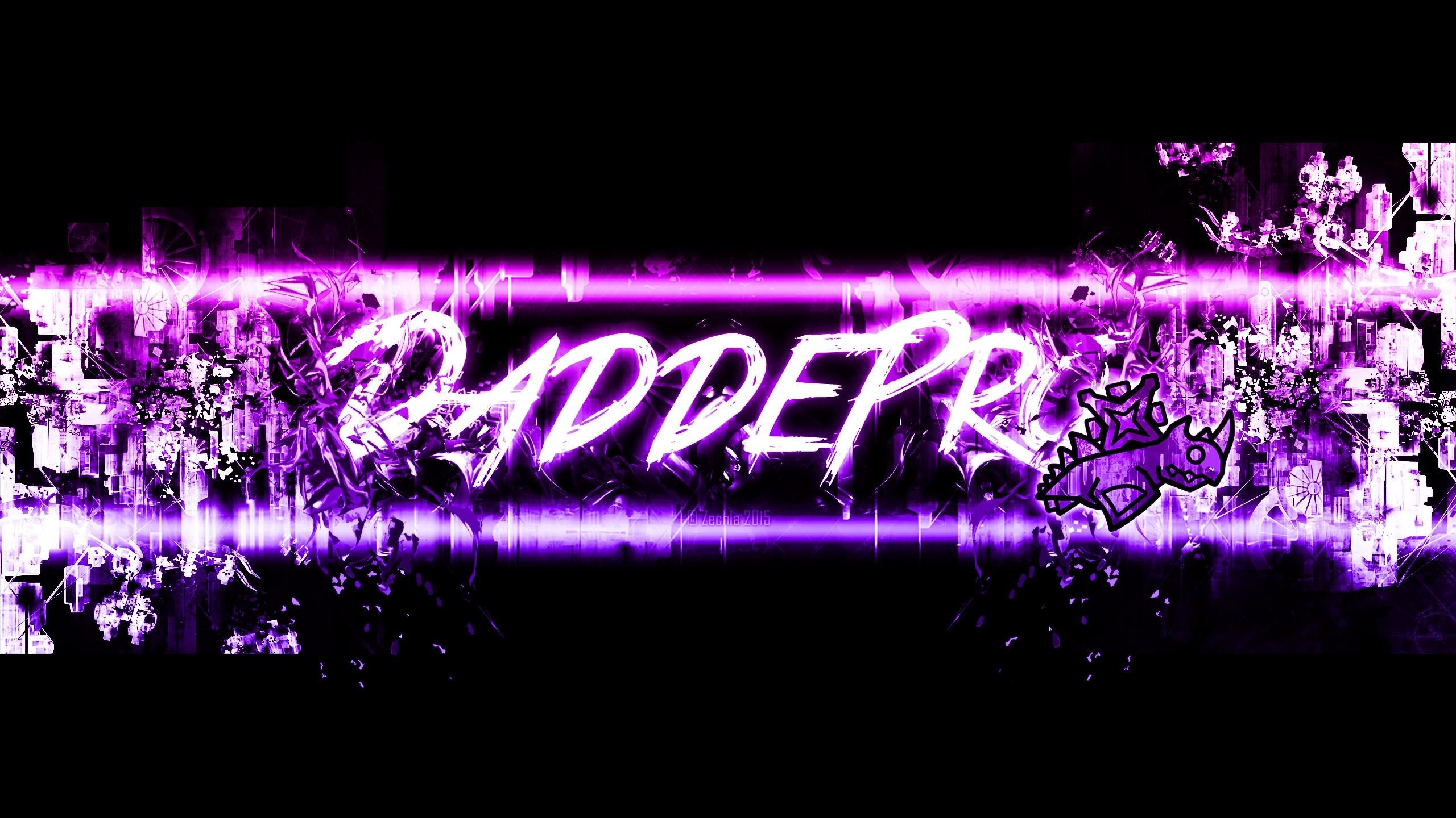 2560x1440 Dash Daddepro S Youtube Banner Youtube Banners Banner Wallpaper