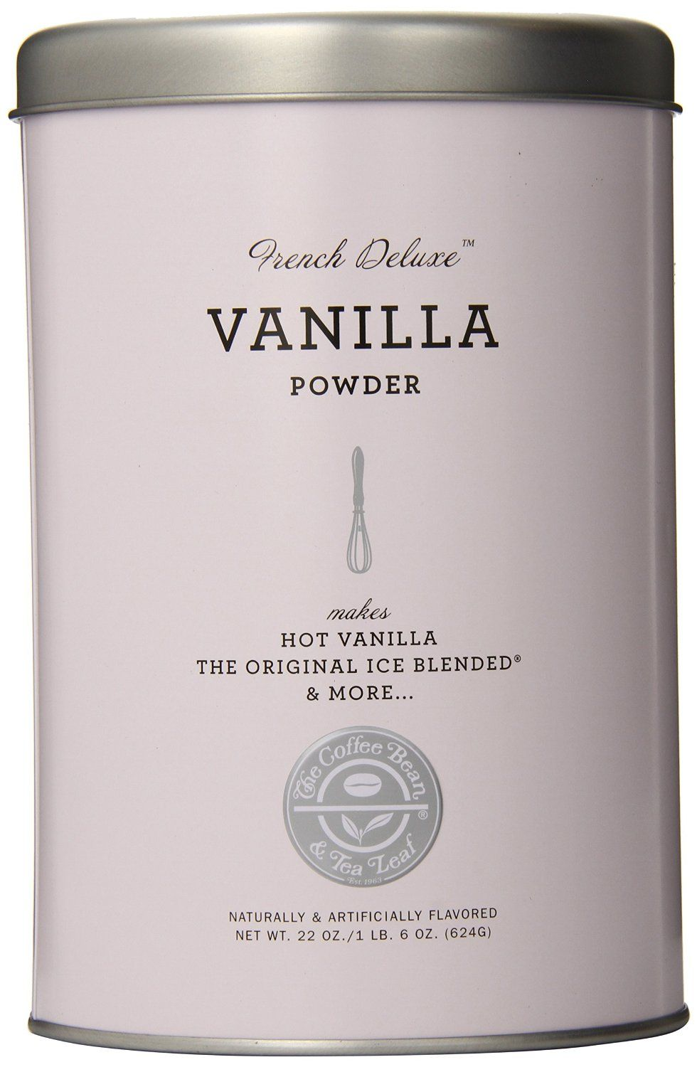 Amazon Com The Coffee Bean Tea Leaf Vanilla Powder 22 Ounce Containers Pack Of 3 Grocery Gourmet Food Tea Leaves Coffee Beans Mighty Leaf Tea