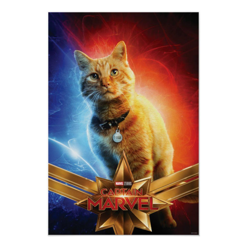 Captain Marvel Goose Movie Poster